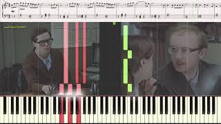 Моей душе... (Служебный роман) (Фрагмент)(Ноты и Видеоурок для фортепиано) (piano cover)
