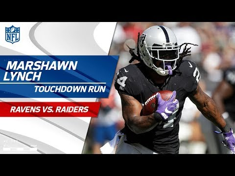 Video: Oakland TD Drive Capped Off by Marshawn Lynch's Powerful Run! | Ravens vs. Raiders | NFL Wk 5