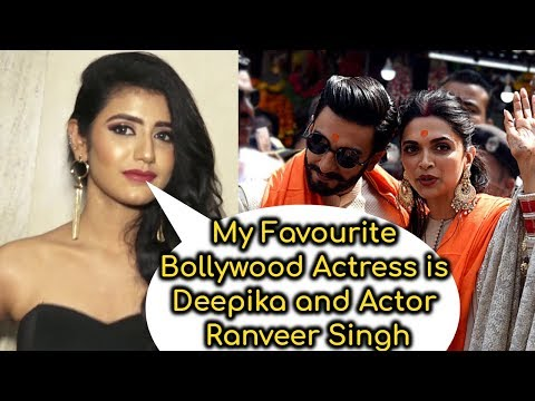 Priya Prakash Varrier Loves Bollywood Couple Deepika and Ranveer
