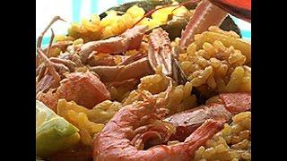 Videoricetta: paella ai frutti di mare