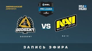GODSENT vs Na'Vi - ESL Pro League S6 Relegations EU - map1 - de_mirage [CrystalMay, Enkanis]