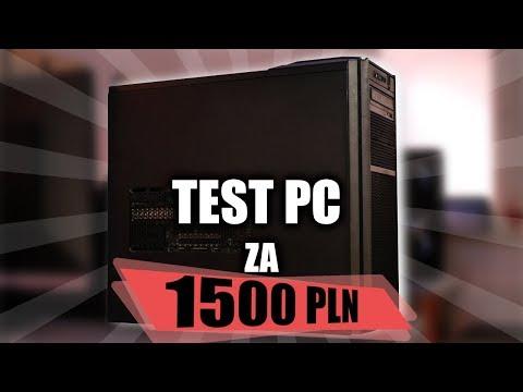 TEST PC za 1500 PLN - granie na wysokich detalach w Full HD!