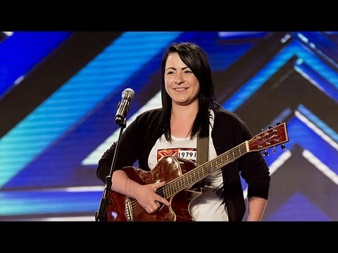 Lucy Spraggan's audition – Last Night – The X Factor UK 2012