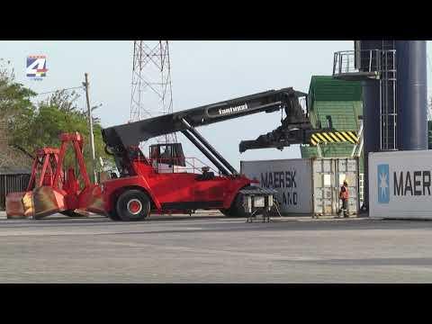 Jorge Dighiero anunció obras para el puerto sanducero