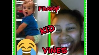 'REACTION VIDEO' HERE;S ANOTHER ONE OF MY REACTION VIDEOS OF FUNNY KID VINES OF 2016!!!!