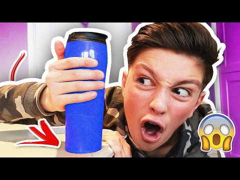 THE CUP THAT WILL NEVER SPILL!!! (IMPOSSIBLE CHALLENGE) (видео)