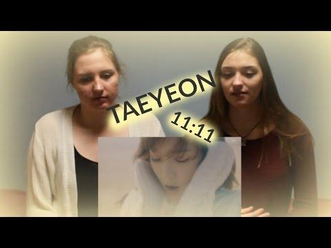 TAEYEON 태연_11:11_Music Video D&A Reaction Video (видео)