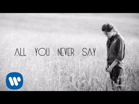 All You Never Say (Lyric Video)