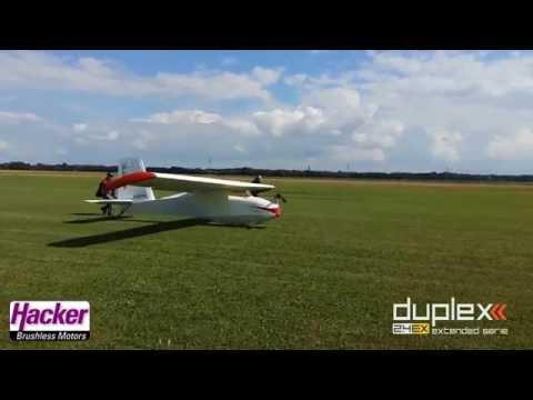 ULF1 Ultra-Leicht Gleiter verwandelt sich in ein RC Segelflugmodell