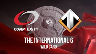 Dota 2 : Escape Gaming vs Complexity - The International 6 Wild Card