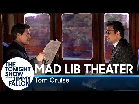 Mad Lib Theater with Tom Cruise (Mission: Impossible Edition) (видео)