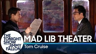 Video Mad Lib Theater with Tom Cruise (Mission: Impossible Edition) MP3, 3GP, MP4, WEBM, AVI, FLV Maret 2019