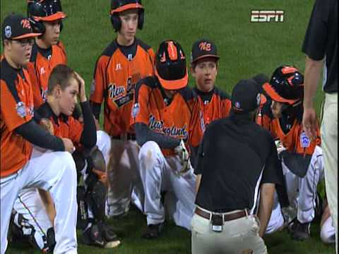 Coach Dave Belisle delivers a brilliant speech to his players after a loss