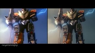 Nonton Mighty Morphin Dragonzord Fighting Mode First Appearance Split Screen (PR and Sentai version) Film Subtitle Indonesia Streaming Movie Download