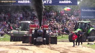 Krumbach Germany  city photos : Pro Stock Tractor Pulling Roundup Krumbach 2014