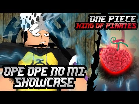 OPE OPE NO MI Showcase | ONE PIECE KING OF PIRATES - ROBLOX