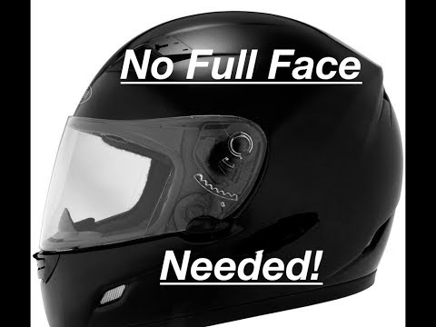 How to MotoVlog without a Full Face Helmet