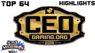 CEO Top 64 Highlights Smash 4