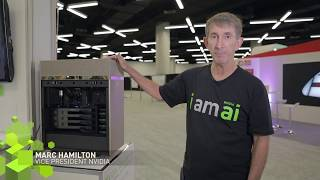 Marc Hamilton, VP at NVIDIA, shows how you can tap into the power of 400 CPUs with the NVIDIA DGX Station. https://www.nvidia.com/dgx-station