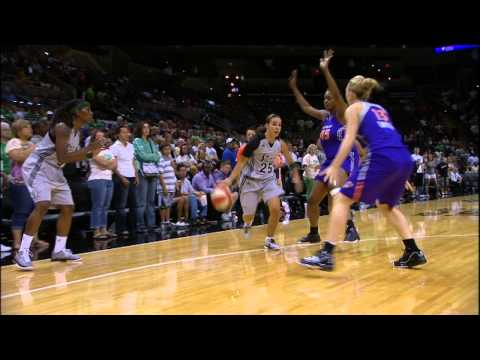 Becky Hammon explains her fantastic scoop shot! August 2011
