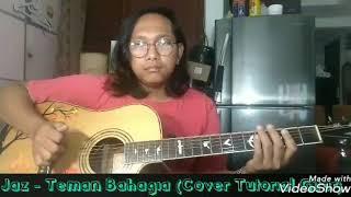 Video Jaz - Teman Bahagia ( Cover tutorial chord Gitar) MP3, 3GP, MP4, WEBM, AVI, FLV Maret 2018
