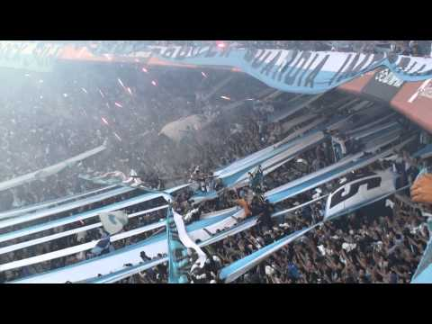 Hinchada de Racing - Fiesta IMPRESIONANTE - La Guardia Imperial - Racing Club