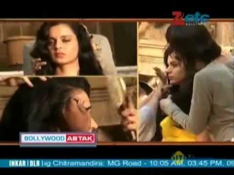 Kangana Ranaut enjoys experimenting with her hair