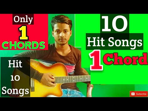 1 Chord 10 Romantic Hit Mashup-Easy Guitar Lesson..By-Mera Guitar Channel(Hindi/Bengali)