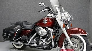 4. 2008  HARLEY DAVIDSON  FLHRC ROAD KING CLASSIC W/ABS - National Powersports Distributors