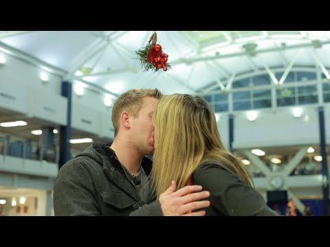 Original - Have you ever wondered if the tradition of the mistletoe is still alive? Watch this video to find out! Get inside my brain! Check out my blog: http://bit.ly/...