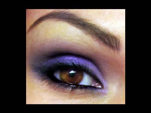 Smokey Purple Eyes | Kandee Johnson