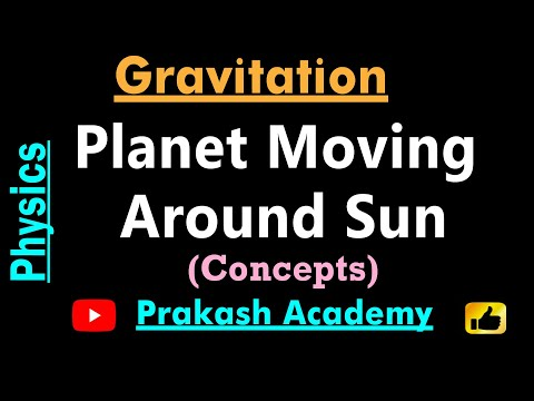 Gravitation 8 Planeten bewegen Sonne für IIT von Guru Sir @ Ranchi