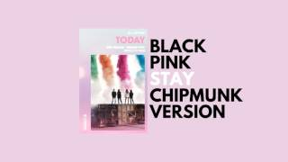 Download Lagu BLACKPINK - Stay (Chipmunk Version) Mp3