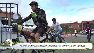 Semana de la movilidad saludable en Corpoboyacá