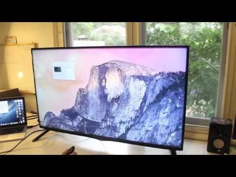"""LG 40UB800T 40"""" UHD TV Unboxing & Preview"""