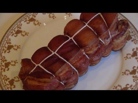Копчение сала мяса домашних условиях