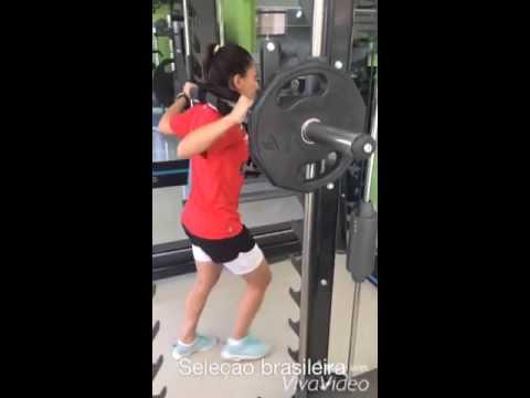 Reabilitação da atleta Leticia Santos -Noruega