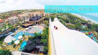 Fortaleza Brazil  city pictures gallery : Insano Beach Park Adventures in Fortaleza - Travel Deeper Brazil (Ep. 10)