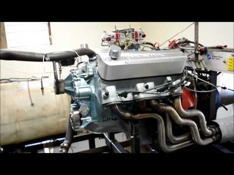 468 cid pump gas Pontiac on the dyno