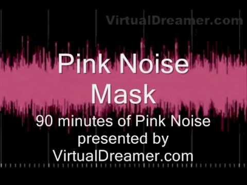Pink Noise Tinnitus Masking – 90 Minutes