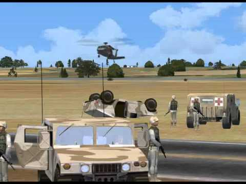 Trailer for the UH-60 Blackhawk...