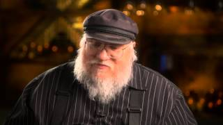 Subscribe to the Game of Thrones YouTube: http://itsh.bo/10qIOan George R.R. Martin introduces Bran's new companions.