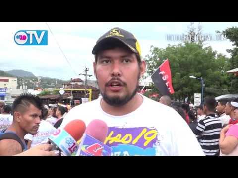 Matagalpa abre campaña de buenas esperanzas con una caminata festival