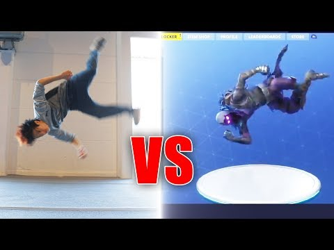 Fortnite Tänze In Real Life | Gong Bao