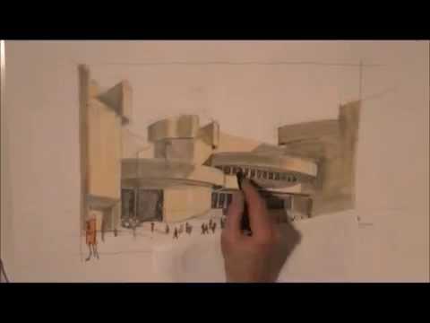 Architektur zeichnen lernen von Klaus Meier-Pauken