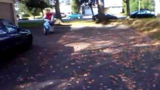 8. Kymco 50 cc People moped