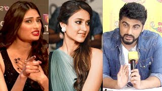 Arjun Kapoor To Date With Ileana D'Cruz Ignores Athiya Shetty.Click here http://goo.gl/Kua0nv to watch Latest Bollywood News.Kraft Bollywood provides bollywood actress fashion, bollywood photoshoots, bollywood red carpet, celebrity news, bollywood oops moments, movie premieres, movies on android/iphone/ipad/apps and more.