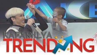 Gigil Kid Carlo Mendoza to Vice Ganda: 'Hindi raw totoo yung buhok mo?'
