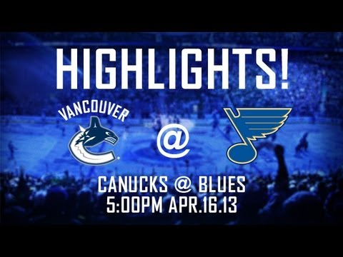 Canucks - Highlights from the St. Louis Blues 2-1 shootout win over the Vancouver Canucks. Subscribe to the official Canucks YouTube channel: http://bit.ly/Mc9YKA Foll...