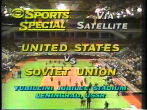 Sports special (USA vs USSR) игра на Стадионе Юбилейный, г.Ленинград СССР